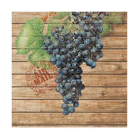 Trademark Fine Art 'Grape Crate I' Canvas Art by Nobleworks - Grape Crate