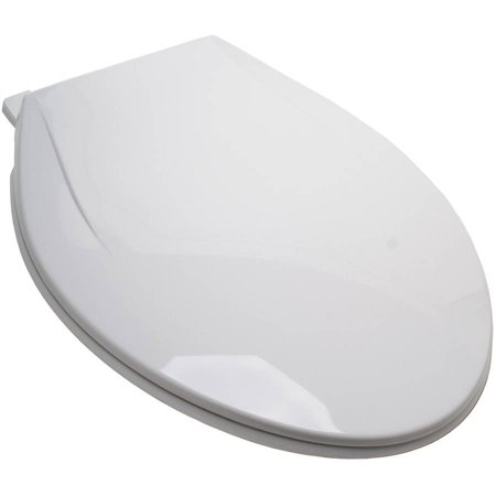 Remarkable Plum Best White Plastic Ez Close Elongated Toilet Seat With Closed Fro Pdpeps Interior Chair Design Pdpepsorg