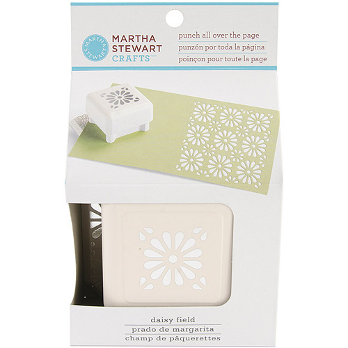 Martha Stewart Punch All Over the Page Punch, Daisy Field