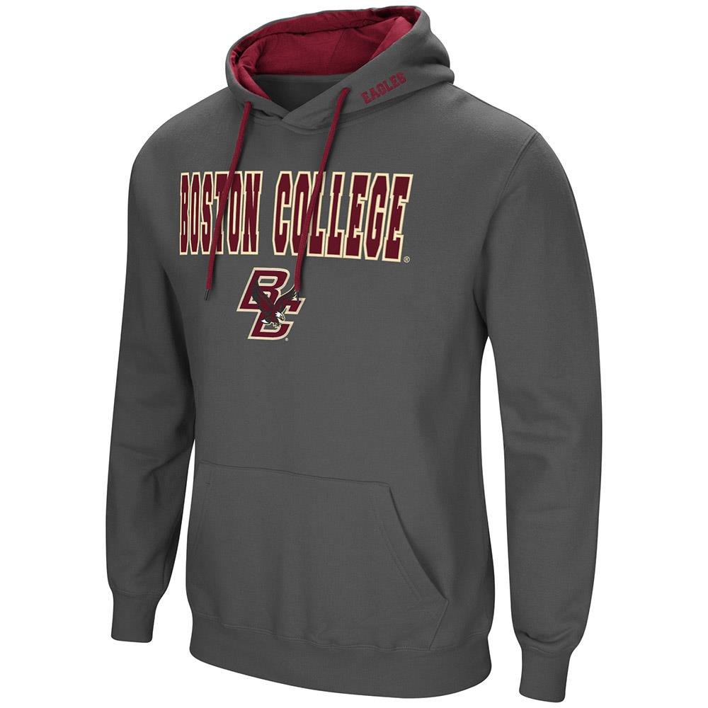 Mens Boston College Eagles Pull-over Hoodie - L