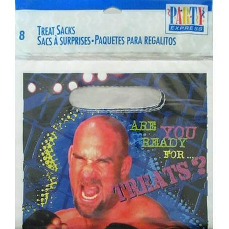 WCW / nWo Wrestling Vintage 1999 Favor Bags (8ct) - Wcw 1999 Halloween Havoc