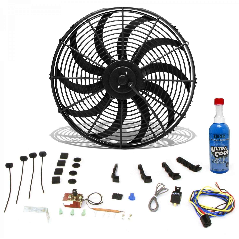 Zirgo 10344 Engine Cooling Fan Motor