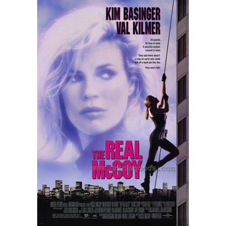 The Real Mccoy Poster Movie  27X40