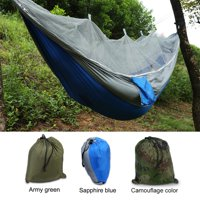 92737b2a77 Product Image Tbest Double Person Camping Hammock With Mosquito Net for  Outdoor Garden Jungle