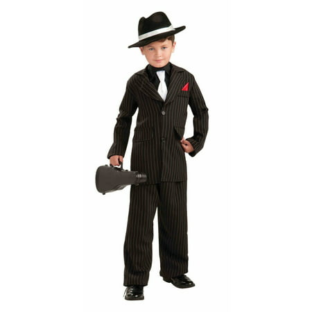Halloween Child Littlest Gangster Costume - Gangster Halloween Costumes Uk