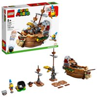LEGO Super Mario Bowsers Airship Expansion Set 71391 Collectible Building Toy (1,152 Pieces)