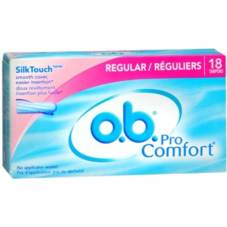 o.b. Pro Comfort Tampons Regular 18 Each (Pack of 2)