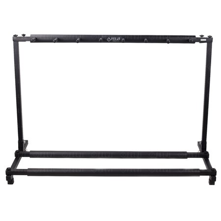 Felji Guitar Stand 7 Holder Guitar Folding Stand Rack Band Stage Bass Acoustic Guitar by