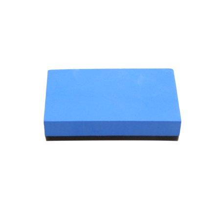 10Pcs Yellow Blue Car Waxing Polishing Foam Sponge Pads Cleaning Detailing Tool - image 4 of 5