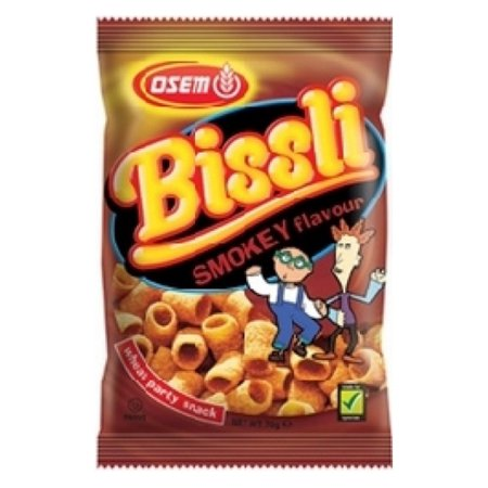 Bissli Smokey Flavored Crunchy Wheat Snack - No Food Coloring or ...