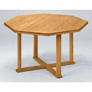 Octagonal Table Straight Profile - Contemporary (Black, 42 in.)