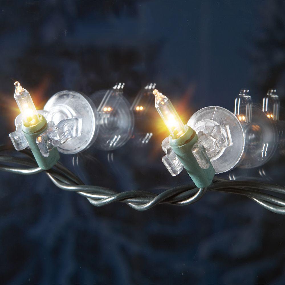 DYNO SEASONAL SOLUTIONS Suction Cup Clips For Mini Christmas Lights, 20-Pk.