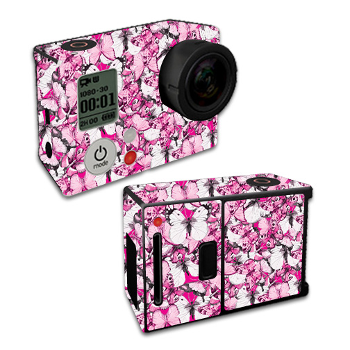 Skin For GoPro Hero3 – Butterflies | MightySkins Protective, Durable, and Unique Vinyl Decal wrap cover | Easy To Apply, Remove, and Change Styles | Made in the USA