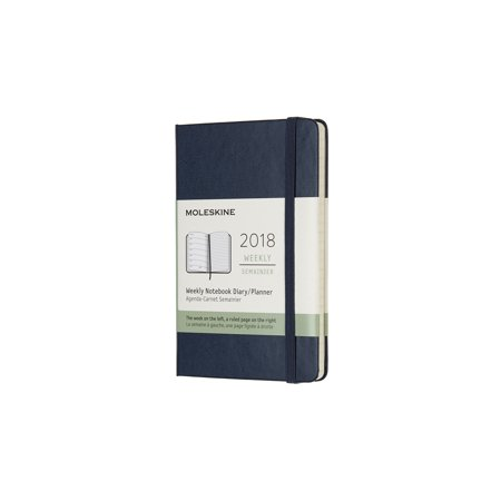 Moleskine 12 Month Weekly Planner, Pocket, Sapphire Blue, Hard Cover (3.5 X 5.5) (Other) ()