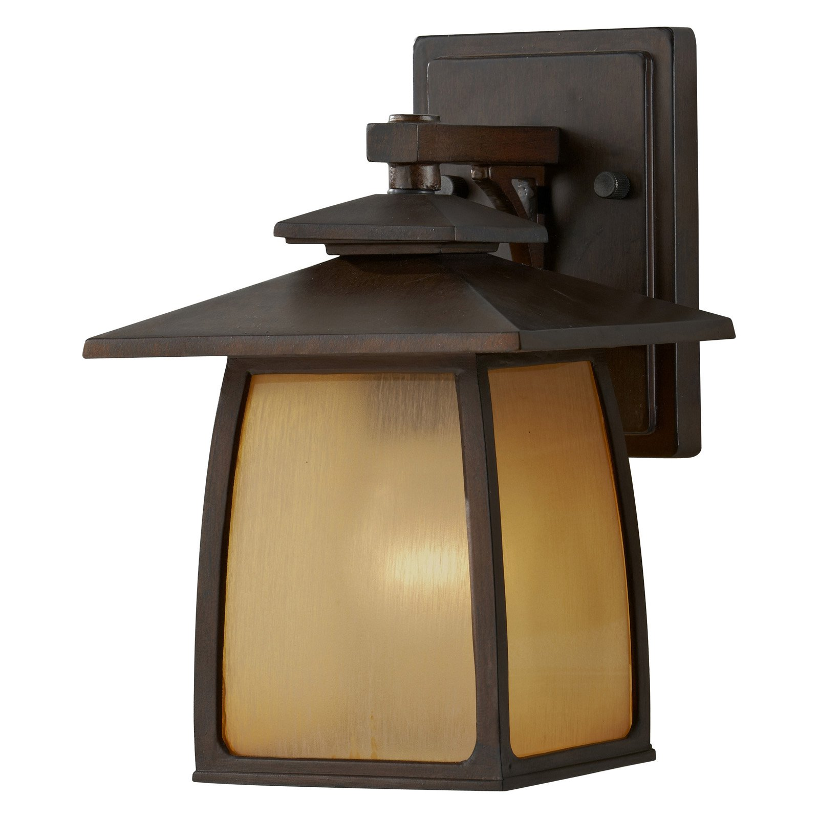Home Solutions Wright House OL850 1-Light Outdoor Lantern - Sorrel Brown