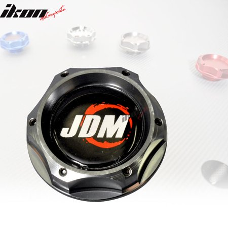 - JDM Engine Oil Filler Tank Cap Cover Fits Honda Civic EG Acura Integra Gunmetal