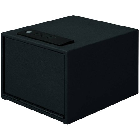 Stack-On Quick Access Electronic Lock Safe, Black