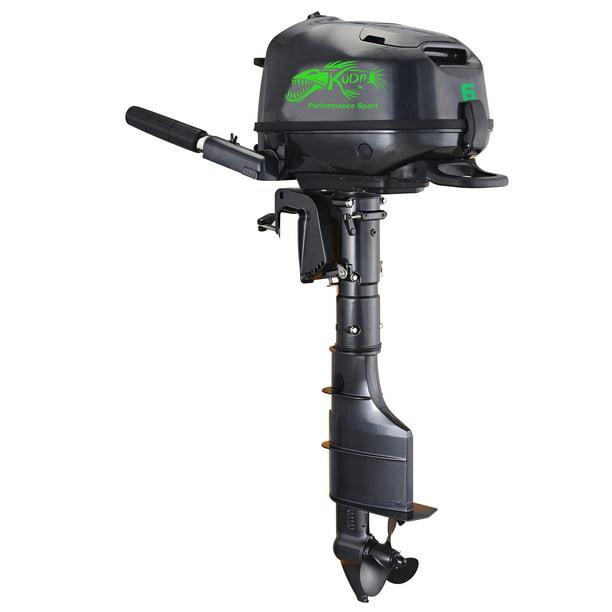 Kuda 4 Stroke 6 HP Horse Power Outboard Motor - Walmart.com