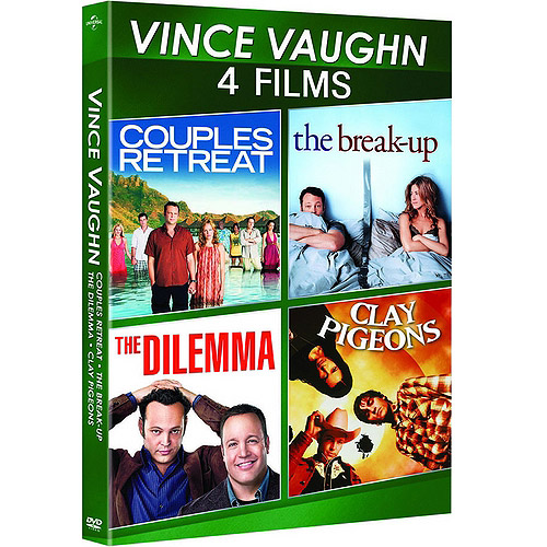 Vince Vaughn: 4-Film Spotlight Series - The Break-Up / Clay Pigeons / Couples Retreat / The Dilemma (Anamorphic Widescreen)