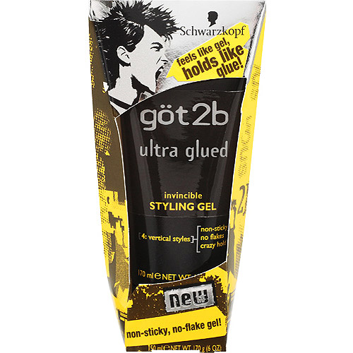 walmart hair styling products g 246 t2b ultra glued invincible styling gel 6 oz 3635
