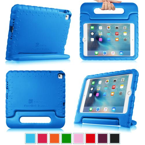 Fintie iPad mini 4 2015 Release Case - Kiddie Series Light Weight Shock Proof Convertible Handle Stand Cover, Blue