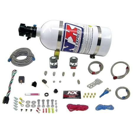 (NITROUS EXPRESS Ford EFI Single Nozzle Nitrous System 20922-10)