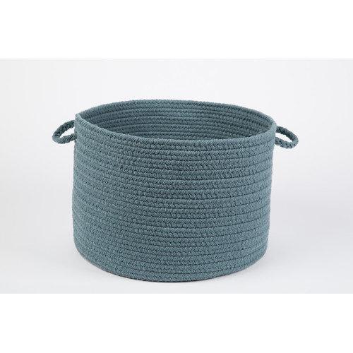 """WearEver Ocean Blue Poly 18"""" x 12"""" Basket"""