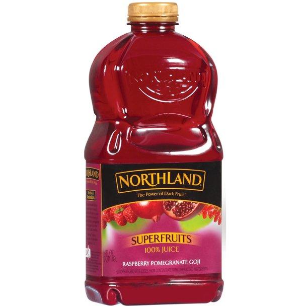 Northland Superfruits Raspberry Pomegranate Goji 100 Juice 64 Fl