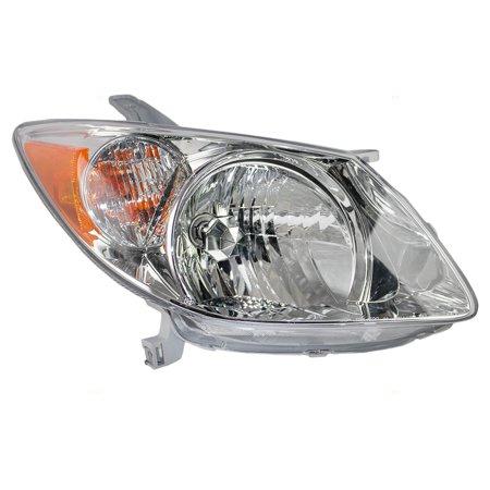 Brock Halogen Combination Headlight Headlamp Penger Replacement For 05 08 Pontiac Vibe 88973539