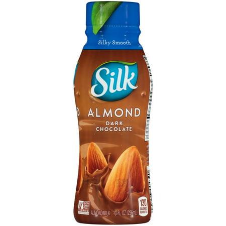 One Shoulder Milk Silk (Silk 106177 Almond Milk Aseptic Dark Chocolate Bottle 12-10 Fluid Ounce )