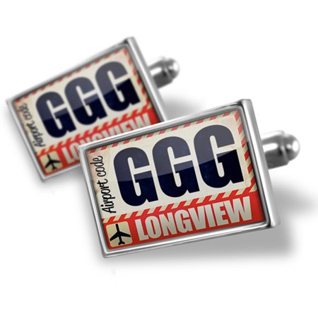 Cufflinks Airportcode Ggg Longview   Neonblond