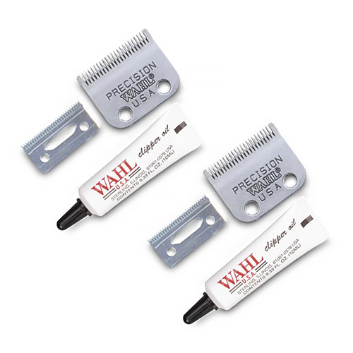 Wahl 2050-500 (2 Pack) Combo Replacement Clipper Blade Set