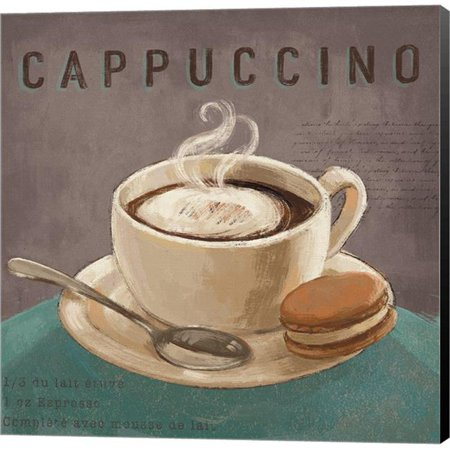 Metaverse C962721 0120000 8caaama Coffee Co I Teal Gray By Janelle Penner Canvas Wall Art 12 X In
