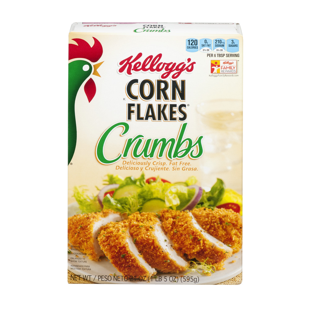 Kellogg's Corn Flakes Crumbs, 21.0 OZ