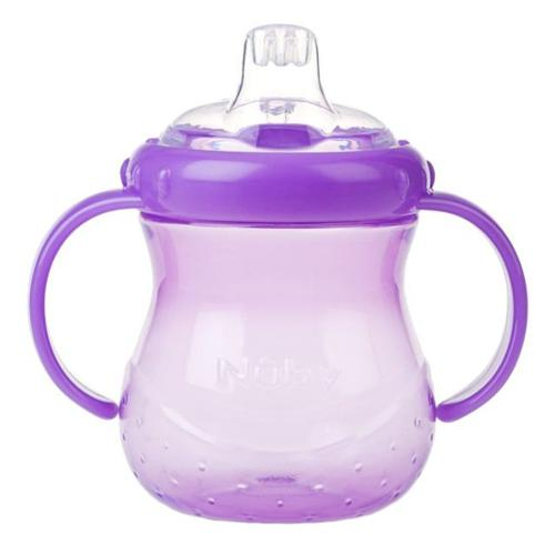 Nuby 10 oz No-Spill Cup with Soft Spout - Purple