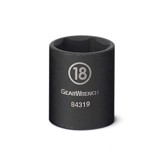 KDT-84310 Drive 6 Point Standard Impact Socket, 9 mm.