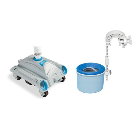 Intex Automatic Above-Ground Swimming Pool Vacuum & Mounted Automatic Skimmer ()