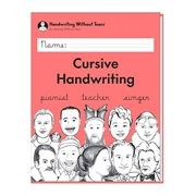learning without tears - cursive handwriting student workbook, current edition - handwriting without tears series - 3rd grade writing book - writing, language arts lessons - for school or home use