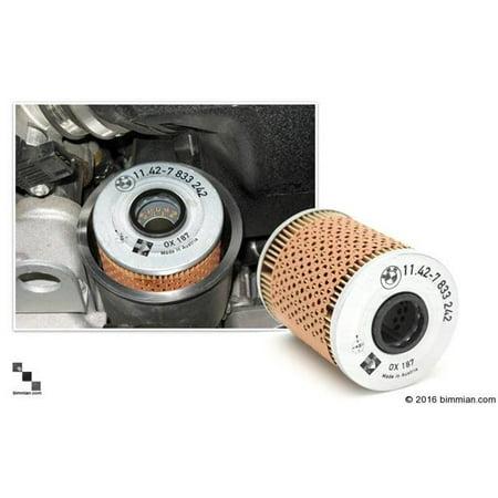 Bimmian Filx51241 Bmw Original Equipment Oil Filter For Bmw E53 X5 4 4i Suv Single Filter Kit