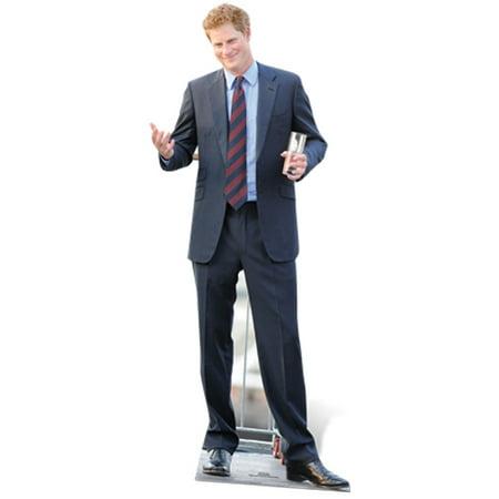 Star Cutouts Prince Harry Cardboard Cutout Life Size Standup