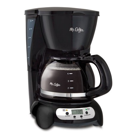 Mr Coffee Programmable Coffee Maker Cgx23 : Mr. Coffee Programmable Drip Coffeemaker, 5-Cup, Black Stainless BVMC-TFX7 - Walmart.com