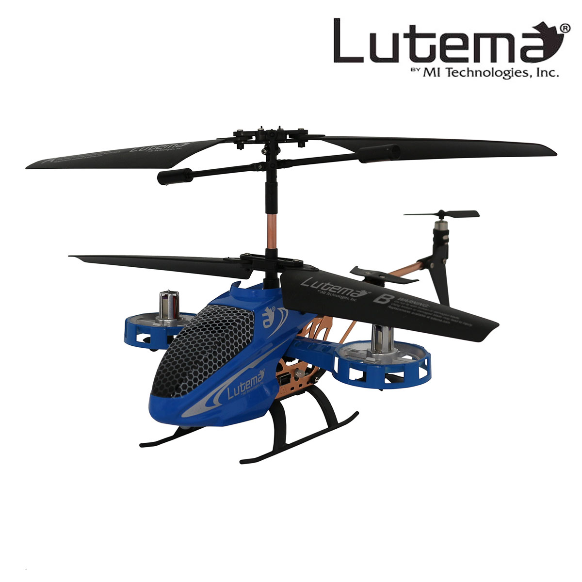 Lutema Avatar2 Hovercraft 4CH Remote Control Helicopter - Blue