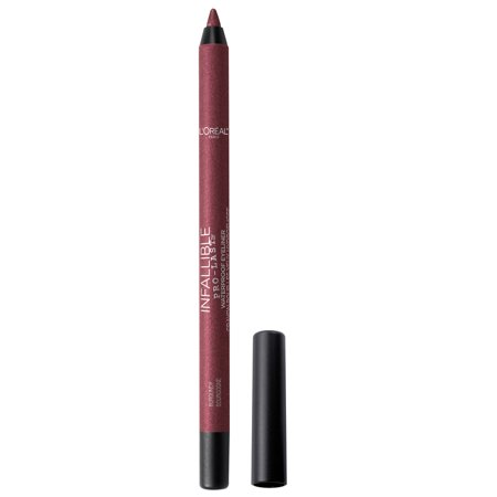 L'Oreal Paris Infallible Pro-Last Waterproof, Up to 24HR Pencil Eyeliner,