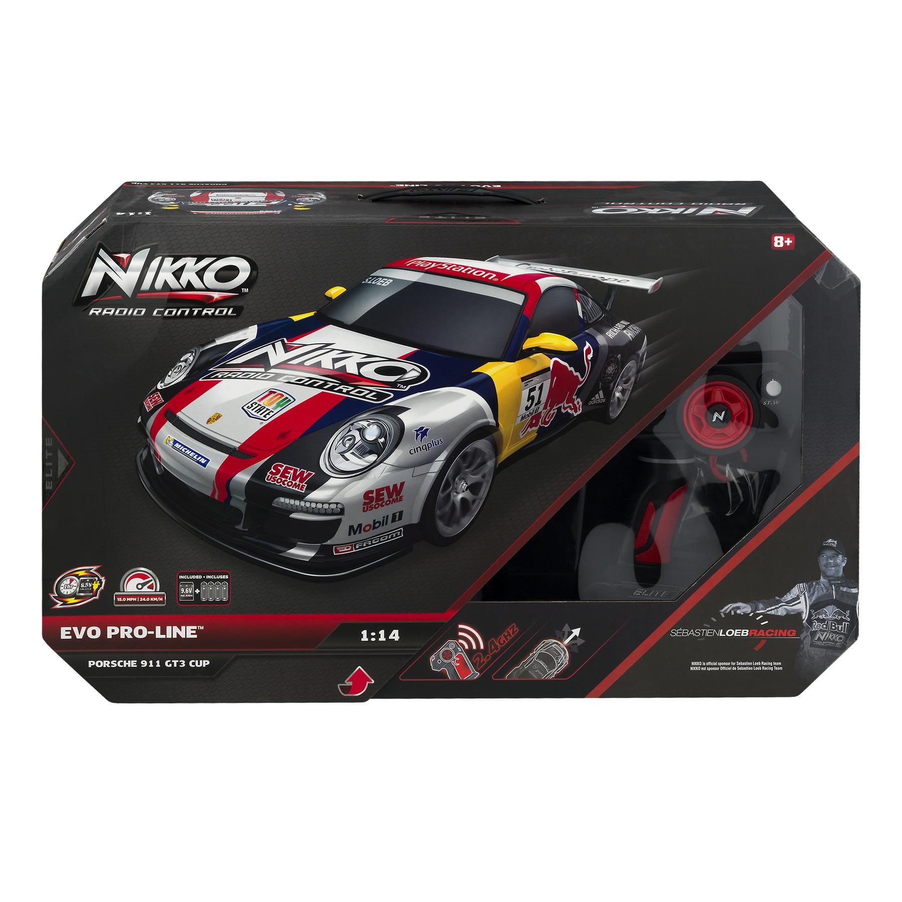 Nikko EVO Pro-Line Porsche 911 GT3 Cup R/C, 1.0 CT