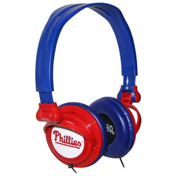 Slim DJ Headphones - Philadelphia Phillies Philadelphia Phillies HPBBPHISP