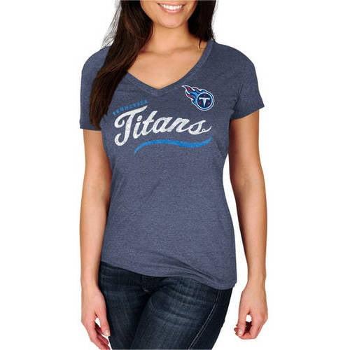 NFL Tennessee Titans Women's V-Neck Tee