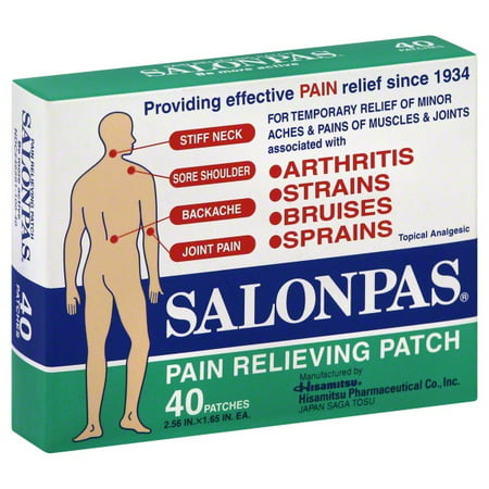 Hisamitsu Pharmaceutical Salonpas Pain Relieving Patch, 40 ea