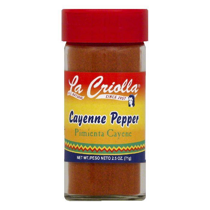 La Criolla Cayenne Pepper, 2.5 OZ (Pack of 12)