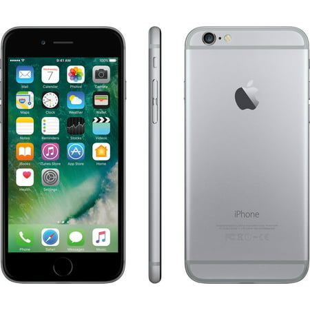 At Prepaid Iphone 6 32Gb  Space Gray With  45 Of Service