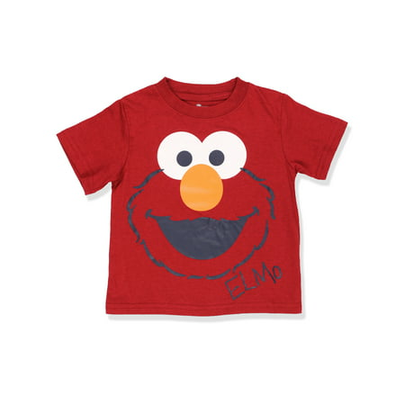 Sesame Street Elmo Boys Short Sleeve Tee (Baby/Toddler) 6SE4718](Elmo Kids)